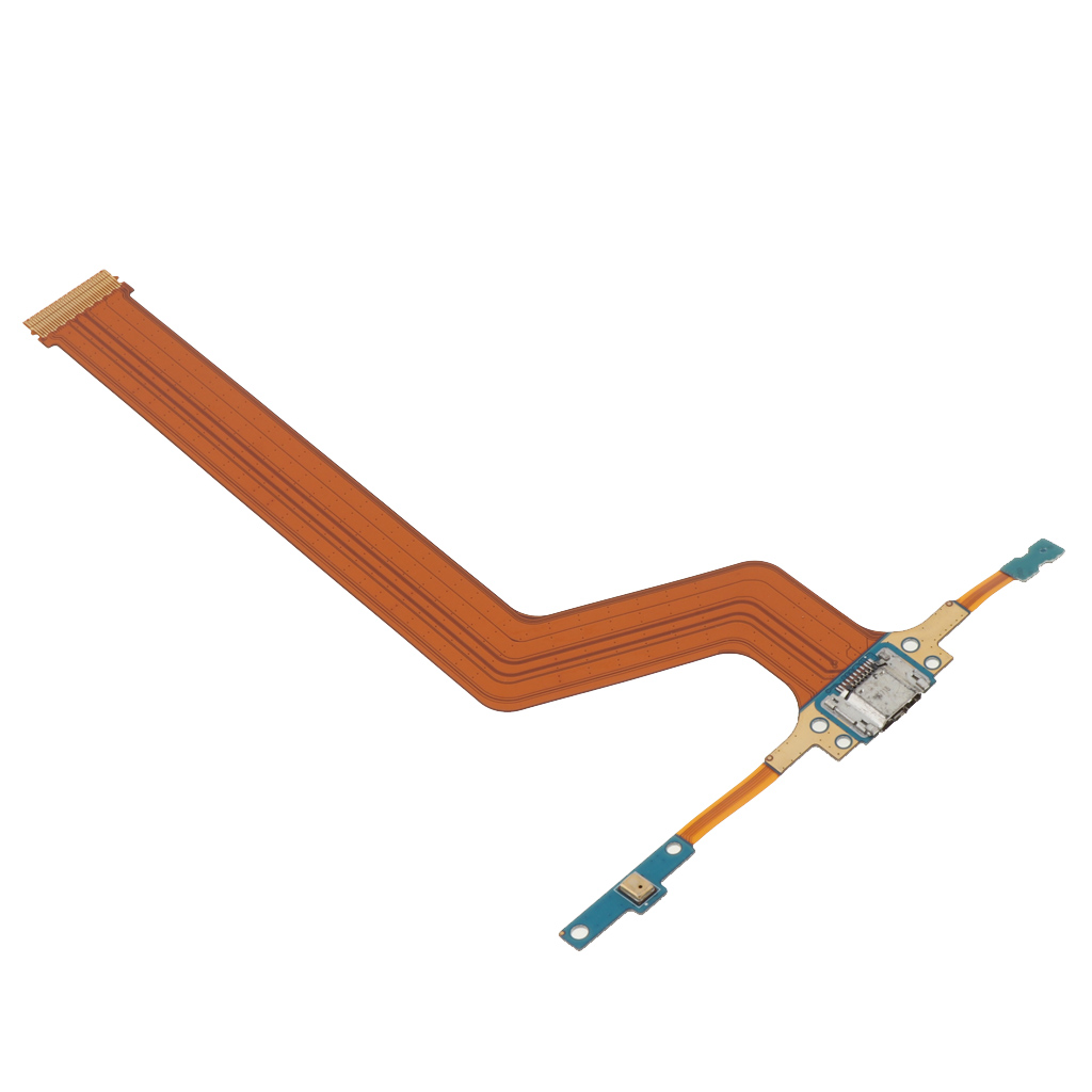 Flex Cable Ribbon With Charger USB Charging Port Connector & Mic Replacement Part For Samsung Galaxy Note 10.1 SM-P600 P605