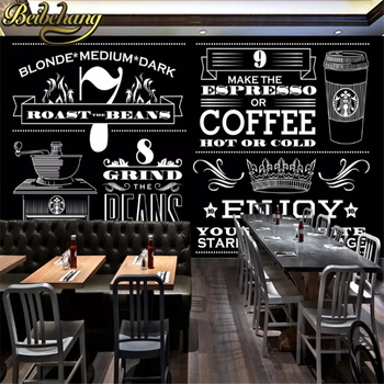 beibehang custom photo wall paper fashion hand-painted gourmet fast food restaurant Western shop blackboard mural wallpaper 3D fashion hd europe and america hand painted cosmetics wallpaper shop makeup shop background wall