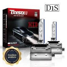 TXVSO8 السوبر مشرق المصابيح الأمامية D1S D2S D3S D4S زينون HID سيارة لمبة 35W/55W 9000LM سيارات المصابيح الأمامية 4300k 6000K 8000K كيت