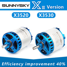 Sunnysky X3520-III X3530-III i 445kv 560kv 780kv motor sem escova para aviões rc quadcopter avião asa fixa