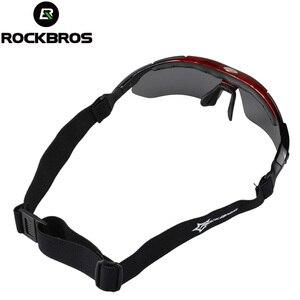 Image 2 - ROCKBROS الاستقطاب 5 عدسة الدراجات نظارات UV400 في الهواء الطلق نظارات شمسية رياضية نظارات حماية السلامة دراجة نظارات قصر النظر الإطار