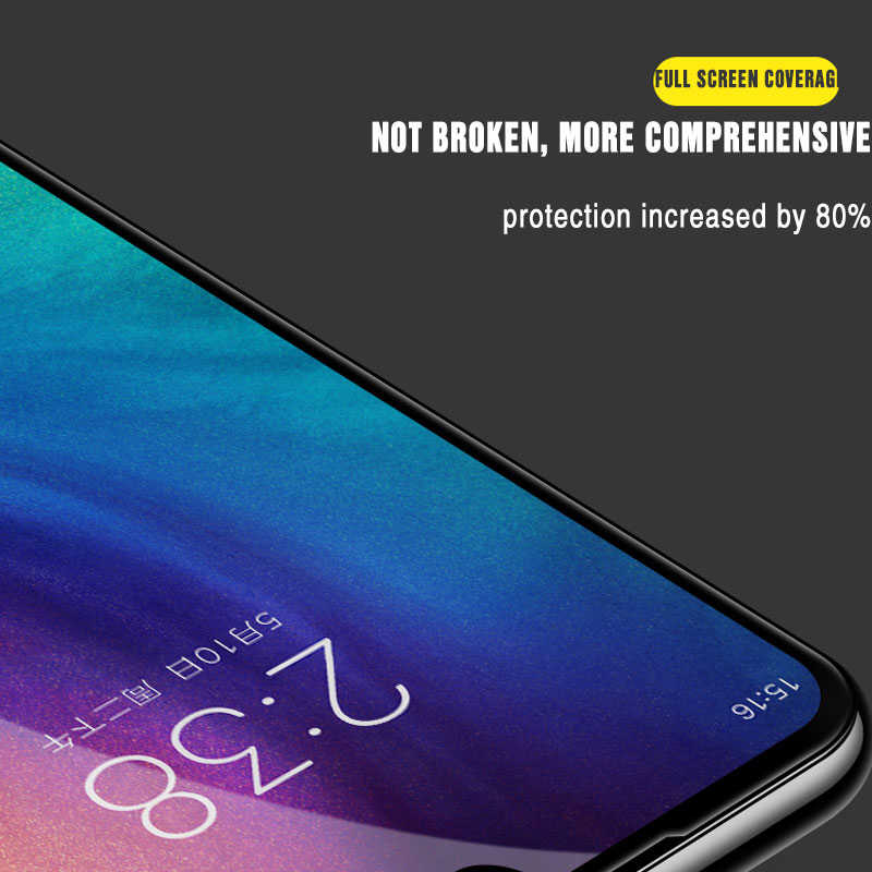 9D Kaca Pelindung Di untuk Xiaomi Redmi 5 6 7 8 8A 7A 6A 5A 5 Plus Note 6 7 8 Pro Pelindung Layar Anti Gores Kaca Film
