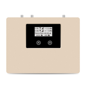 Image 3 - 特別提供! スマートデュアルバンド 2G3G4G 1800/2100 携帯信号ブースター携帯携帯電話の中継器アンプ唯一のデバイス + アダプタ