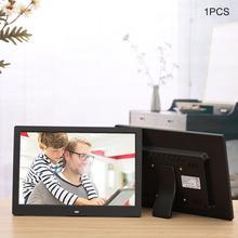 12 дюймов светодиодный экран с подсветкой HD Цифровая фоторамка электронный альбом фото музыкальный фильм полная функция хороший подарок