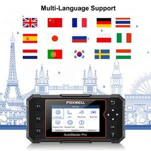Image 4 - Foxwell herramienta de diagnóstico NT624 Elite OBD2 sistema completo, ABS SRS SAS, reinicio de aceite EPB Servic, escáner automotriz ODB2 OBD2, actualización gratuita
