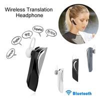 Inteligentny 26 w czasie rzeczywistym język tłumacz Voice bezprzewodowe słuchawki bluetooth traductor dla IOS Android słuchawki w Translatory od Elektronika użytkowa na