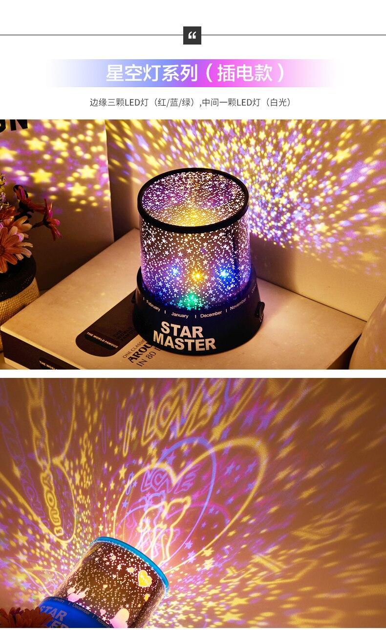 led luzes da noite quarto suprimentos de50yd