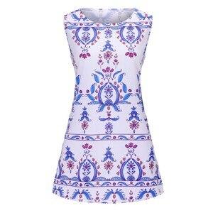 Женское бальное платье без рукавов, повседневное свободное летнее платье-бандо с круглым вырезом и рюшами, длиной до колена