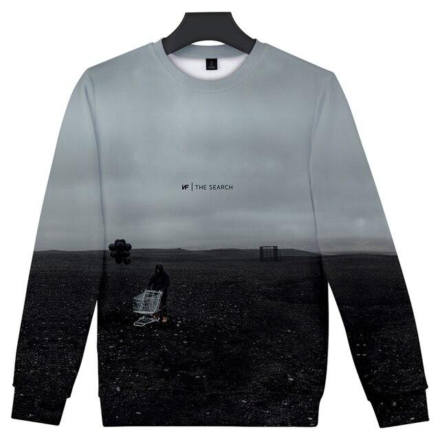 NF 3D Art The Search Sweatshirt 1