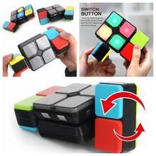 Забавная электронная волшебная игрушка головоломка с откидывающейся