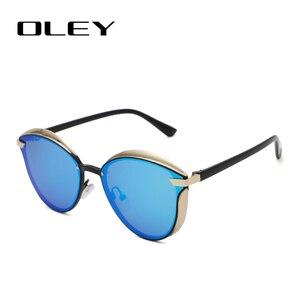 Image 3 - OLEY Cat Eye Sunglasses Women Polarized Fashion Ladies Sun Glasses Female Vintage Shades Oculos de sol Feminino UV400 Y7824