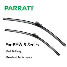 PARRATI limpiaparabrisas para BMW serie 5 E39 E60 E61 F07 F10 F11 520i 523i 525i 528i 530i 535i 540i 545i 518d 520d 525d 530d 535d