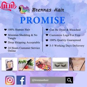 Image 5 - Brennas insan saçı peruk kısa kıvırcık Bob kahküllü peruk brezilyalı saç makine yapımı peruk siyah kadınlar için insan Remy saç peruk 150% D