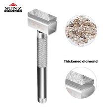 1pc Diamante Moagem Aparelhador Da Roda Espessamento camada moagem Moedor de Pedra De Amolar para Afiar Ferramenta de Metal