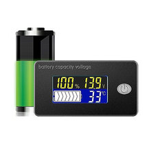Универсальный индикатор емкости батареи 12 В 24 монитор свинцово