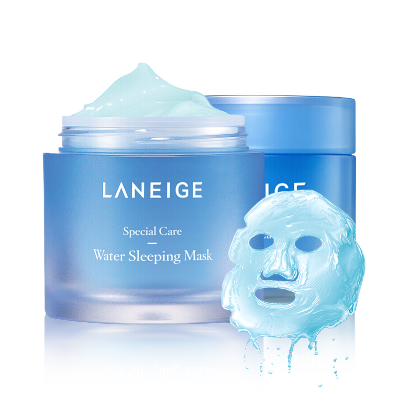 Korea Cosmetic Sleeping Mask All Night Hydrating Sleep Mask Wash Free Repair Purifies Skin 70ml/15ml