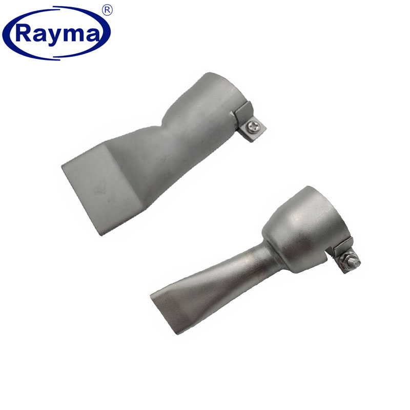 Fltaheroo 2Pcs Welding Nozzles For Leister//Bak Hot Air Heat,20Mm And 40Mm Flat Weld Nozzle