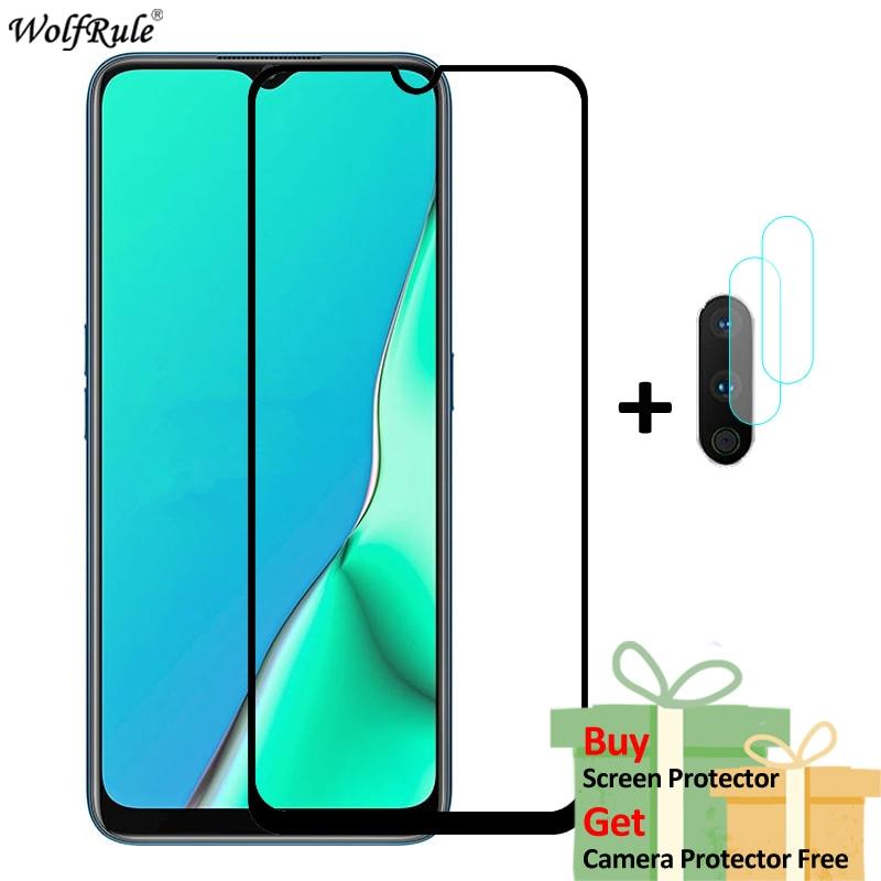 2 шт Защита экрана для OPPO A5 2020 стекло A9 2020 Realme 6 Pro закаленное стекло Полный Клей Защитная пленка для телефона для Realme 6 Защитные стёкла и плёнки      АлиЭкспресс