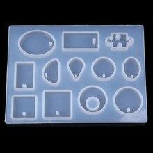 Ожерелье Подвеска силиконовая форма «сделай сам» Смола декоративное ремесло форма для изготовления ювелирных изделий