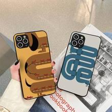 Cartoon Dachshund Sausage Dog Phone Case For iphone 5s 6 7 8 11 12 plus xsmax xr pro mini se Cover Fundas Coque
