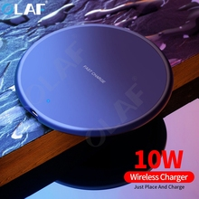 OLAF 10W Qi Wireless Charger For iPhone 11 Pro Max USB Charger Fast Charging Pad For Samsung S10 S9 Xiaomi Fast Wireless Charger