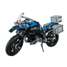 цена Compatible LegoEDS Technic The BMWW Off-road Motorcycles GS 20032 Model Kit Building Block Bricks Educational Toys For Kids Gift