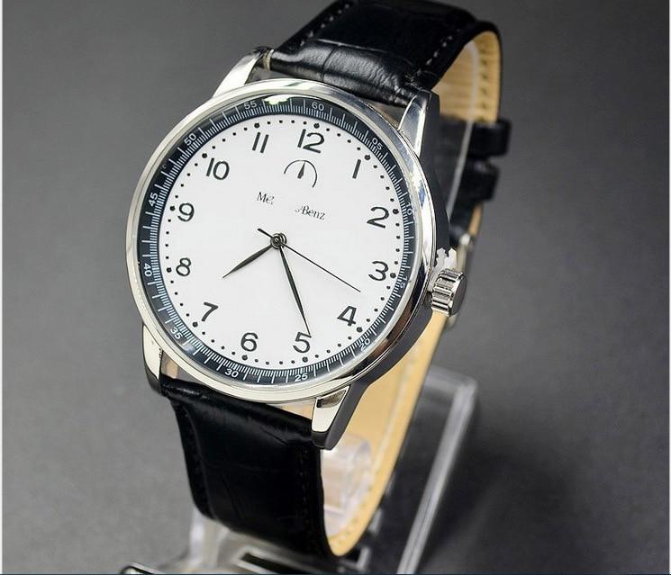 H7f4342927f9744dbbbf216d78c2d973aV New Style Mercedes Belt Watch Men Korean-style Fashion Business Casual Leather Belt Bens