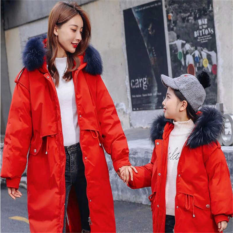 Mommy and Me Outfits Clothes,Long Sleeve Jacket Coat for Mother Daughter Matching Fall Winter Hooded Outwear Blouse Coats