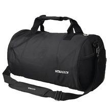 HobbyLane Men Women Waterproof Handbag Exercise Fitness Travel Bag Black Shoulder Portable Large Capacity Messenger