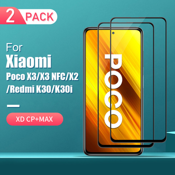 Poco X3 NFC Glass Screen Protector 6.67 For Xiaomi PocoPhone X3 K30i Glass NILLKIN 9H for Xiaomi Poco X2 Tempere Glass Protector