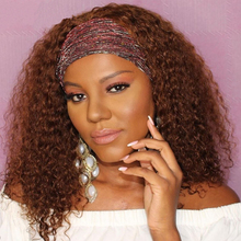 Wigs Ginger Peruvian Human-Hair Simbeauty for Black Women Gluesless 180-Density Headband-Wigs