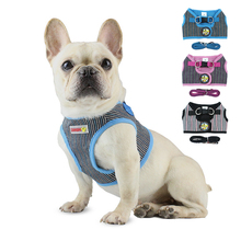 Nylon Pet Puppy Vest Walking Lead Leash Soft Breathable Sets Collar for Small Medidum Large Dogs Outdoor Supplies