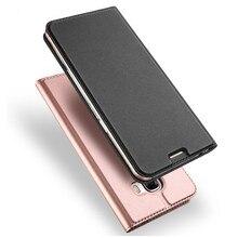 Leder Fall für Samsung Galaxy A3 A5 A7 2017 S20 S10 S9 S8 S7 Rand Hinweis 10 Plus Flip Stehen abdeckung für Samsung A50 A70 A40 A30
