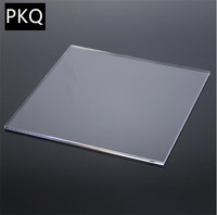 Ev Dekorasyonu'ten Pencere-Giydirme Donanımı'de 30*30cm pleksiglas şeffaf akrilik Perspex levha plastik şeffaf tahta Perspex paneli organik cam polimetil metakrilat