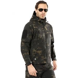 Image 5 - ทหารแจ็คเก็ตชายฤดูหนาวCamouflageยุทธวิธีกันน้ำWindbreaker HoodedชายCamoเสื้อPlusขนาด5XLเครื่องบินทิ้งระเบิดกองทัพชายเสื้อ