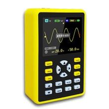 Armazém russo yeapook ads5012h handheld digital portátil mini osciloscópio kit com 100mhz largura de banda 500 ms/s taxa de amostragem