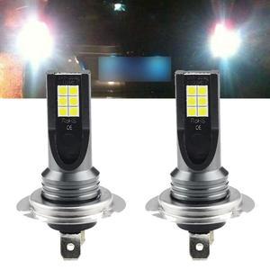 High Quality NEW 2Pcs H7 CAR LED Headlig