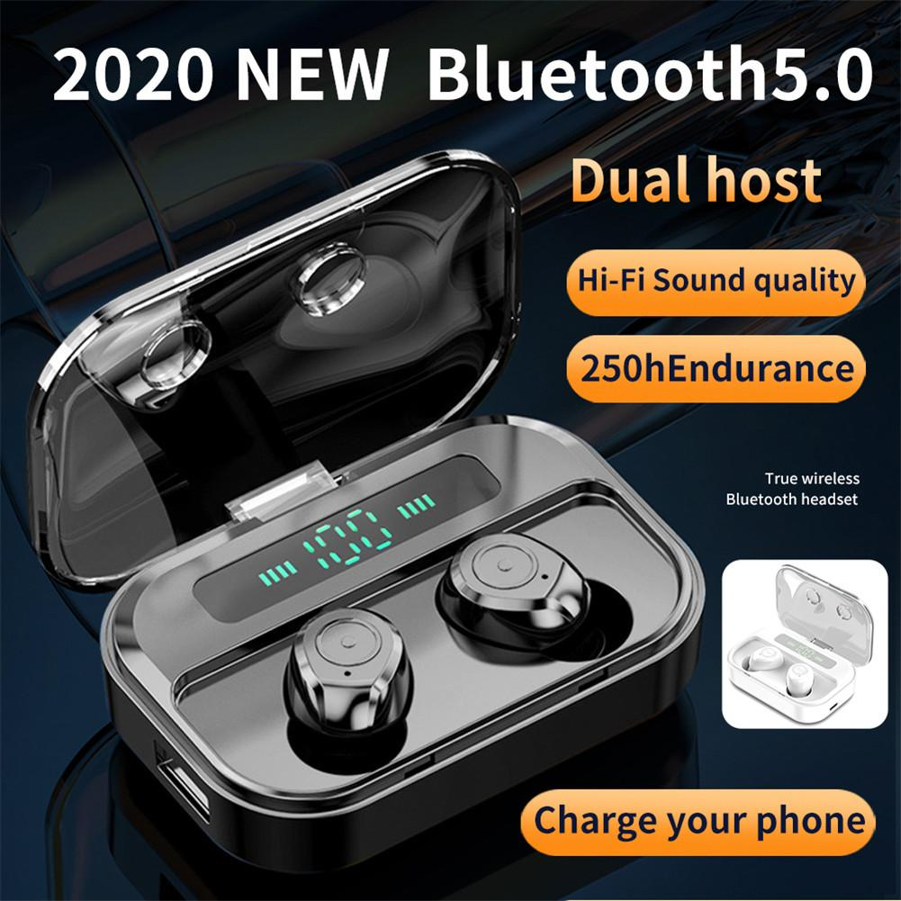 M7s Bluetooth Headset Tws Large Capacity Battery Display Touch Screen Wireless Bluetooth Headset With 1500 Mah Charging Box Bluetooth Earphones Headphones Aliexpress