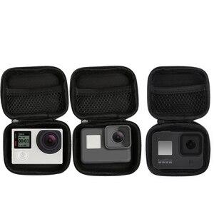 Image 1 - المحمولة صغيرة الحجم كاميرا مقاومة للماء حقيبة حافظة لهاتف شاومي يي 4K صندوق صغير جمع ل GoPro بطل 8 7 6 5 4 Sjcam اكسسوارات