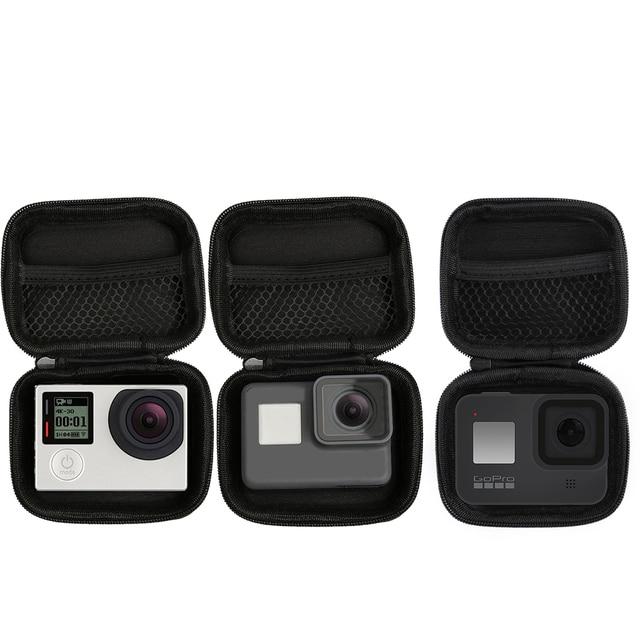 المحمولة صغيرة الحجم كاميرا مقاومة للماء حقيبة حافظة لهاتف شاومي يي 4K صندوق صغير جمع ل GoPro بطل 8 7 6 5 4 Sjcam اكسسوارات