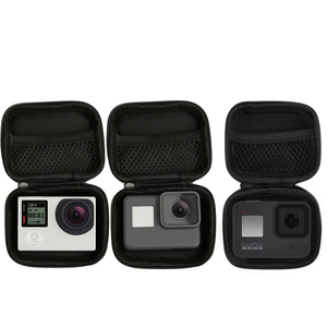 Image 1 - Portable Small Size Waterproof Camera Bag Case for Xiaomi Yi 4K Mini Box Collection for GoPro Hero 9 8 7 6 5 4 Sjcam Accessories