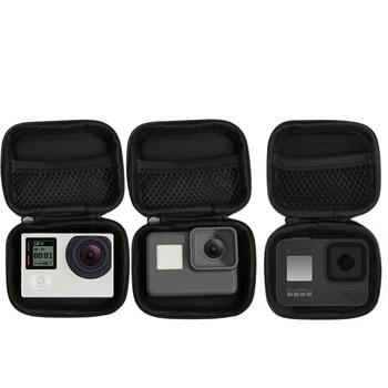 Portable Small Size Waterproof Camera Bag Case for Xiaomi Yi 4K Mini Box Collection for GoPro Hero 9 8 7 6 5 4 Sjcam Accessories diving case xiaoyi yi 4k 2 waterproof housing case for original xiaomi yi 4k sports camera xiaoyi ii 2 4k camera accessories
