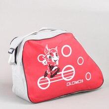 Organizer Roller Shoulder-Strap-Storage Storage-Bag Portable-Skating-Shoes Adjustable
