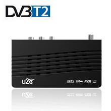 U2C DVB-T2 DVB-T odbiornik Wifi cyfrowa telewizja HD Tuner Receptor DVB T2 H 264 naziemny odbiornik TV TDT dekoder dla rosyjskiego DVB tanie tanio Haohsat DIGITAL T2-115M USB Wifi mt7601 DDR-3 512M