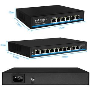 Image 4 - Ai switch PoE สุนัข first พอร์ต 60 วัตต์ PoE switch 4 พอร์ต 8 พอร์ต Ethernet สนับสนุน VLAN 250M สำหรับกล้อง ip wireless AP