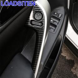 Dekoracja do samochodu Auto zmodyfikowany chrom okno biegów wykończenie wnętrza protector listwy części 18 19 dla Mitsubishi Eclipse Cross w Naklejki samochodowe od Samochody i motocykle na
