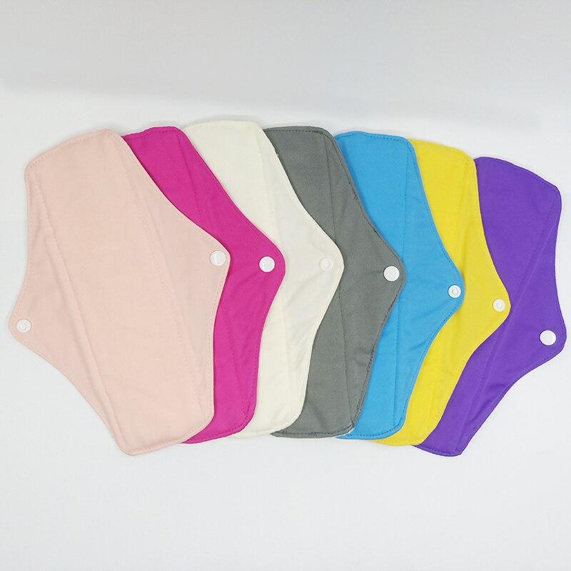 LECY ECO LIFE регулярные потоковые тканевые менструальные прокладки с цветной вкладкой PUL, моющиеся бамбуковые махровые внутренние дневные гигиенические прокладки|menstrual pads|cloth menstrual padssanitary napkin | АлиЭкспресс