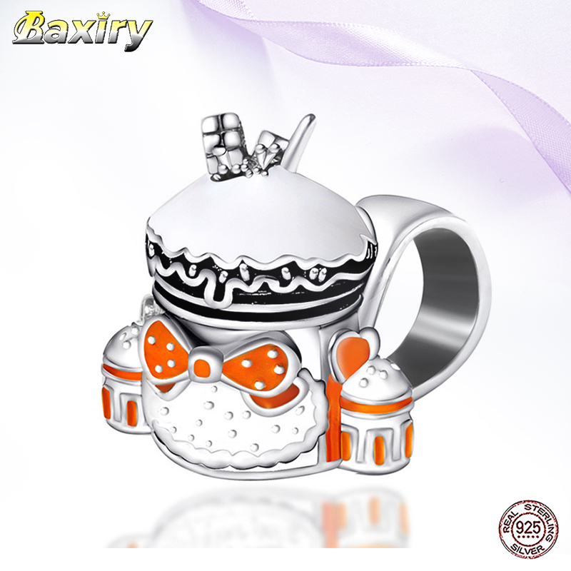 New Designer 925 Sterling Silver Enamel Beads Gift Fit Women Charms Silver 925 Original 2020 Bracelet Beads For Jewelry Making