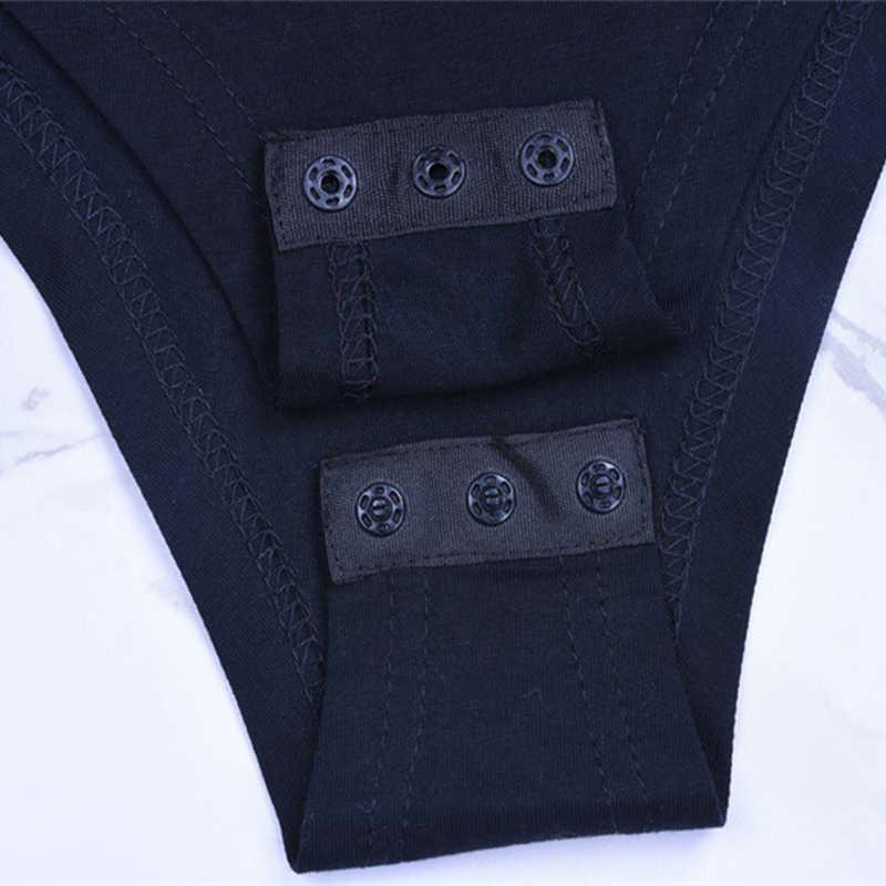 Forefair Sexy sólido cuello de tortuga cuerpo mujer manga larga blusas Otoño Invierno elegante ajustado ceñido negro blanco Bodysuit para mujer