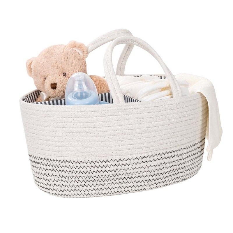 1Pc Fashion Mummy Maternity Nappy Bag Large Capacity Diaper Wipes Basket Nursing HandBag For Baby Care Women's Fashion Pocket